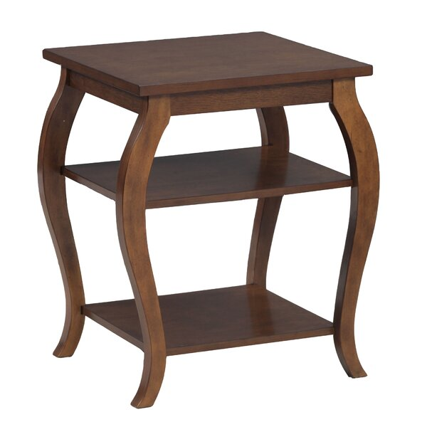 Molina End Table by World Menagerie