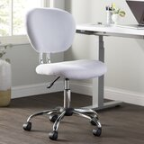 Swell White Fabric Office Chairs Youll Love In 2019 Wayfair Evergreenethics Interior Chair Design Evergreenethicsorg