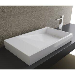 Inexpensive Rectangular Vessel Bathroom Sink ByCantrio Koncepts