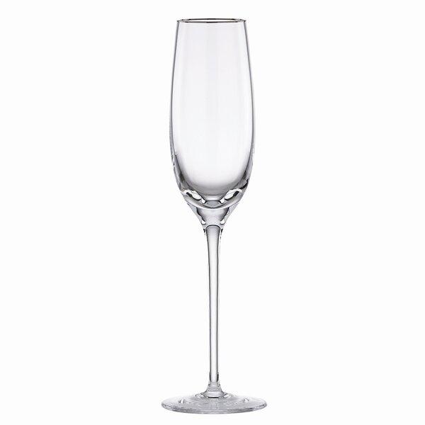 Solitaire Platinum Signature Champagne Flute by Lenox