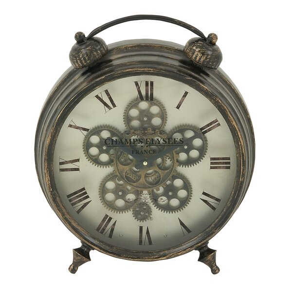 Marvelous Table Clock by Darby Home Co