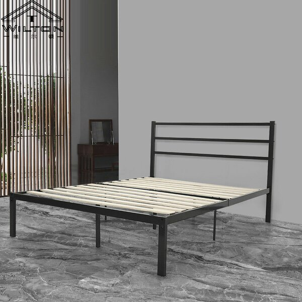 Balzer Metal Platform Bed by Gracie Oaks