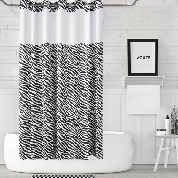 Lagute Snaphook Shower Curtain by JHS