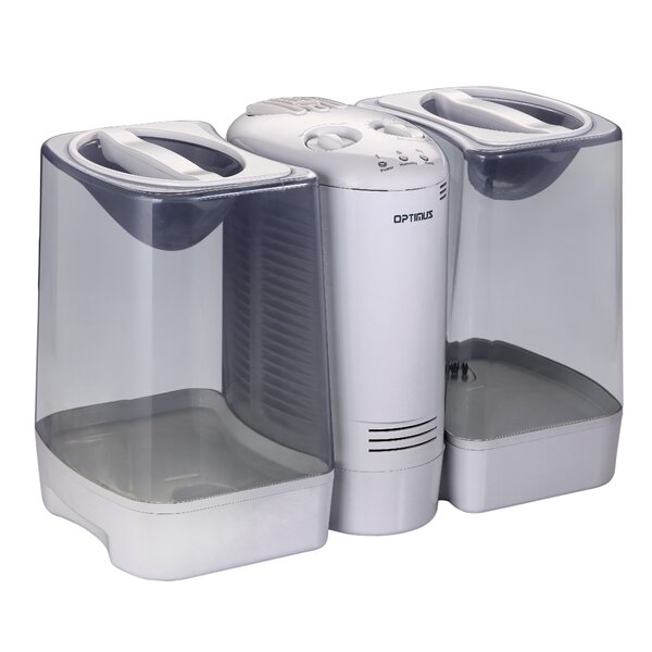 3.5 Gal. Warm Mist Console Humidifier by Optimus