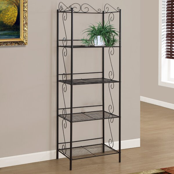 Edwin Etagere Bookcase by Monarch Specialties Inc.