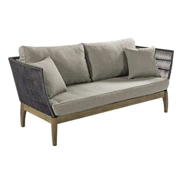 Explorer Wings Patio Sofa with Cushions by Seasonal Living