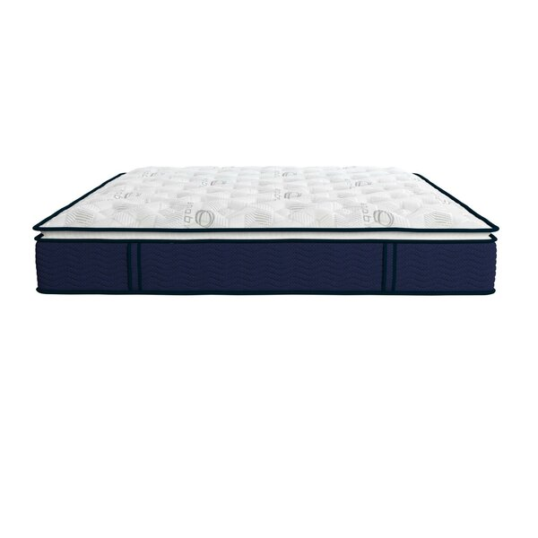 Reset Nanobionic 12 inch Medium Pillow Top Hybrid Mattress by Signature Sleep