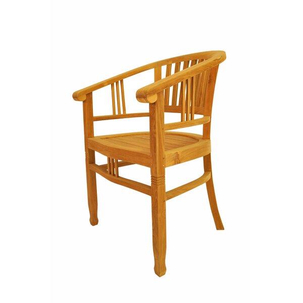 Captain Teak Patio Chair by Anderson Teak