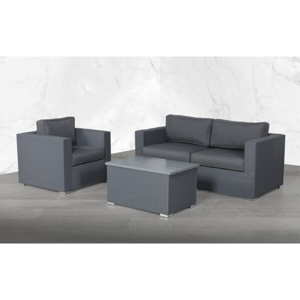 Fry Modular 4 Piece Sofa Seating Group with Cushions by Orren Ellis