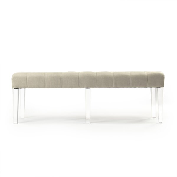 Meline Upholstered Bench by Zentique