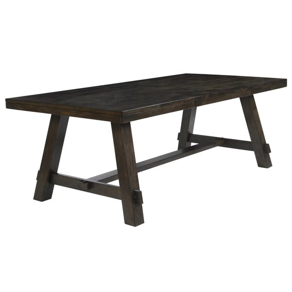 Burket Solid Wood Dining Table by Foundry Select