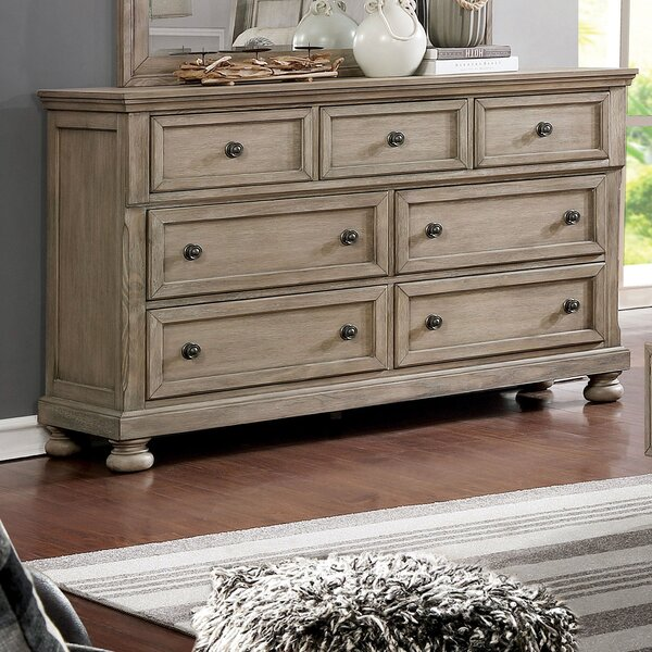 Ballesteros 7 Drawer Dresser by Ophelia & Co.