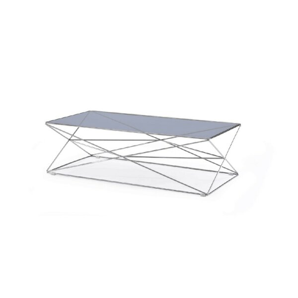 Claiborne Coffee Table With Tray Top By Brayden Studio