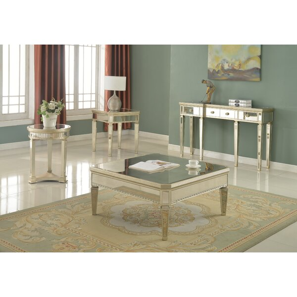 Felicia4 Piece Coffee Table Set by Willa Arlo Interiors Willa Arlo Interiors