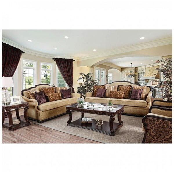 Rhys 3 Piece Living Room Set by Astoria Grand