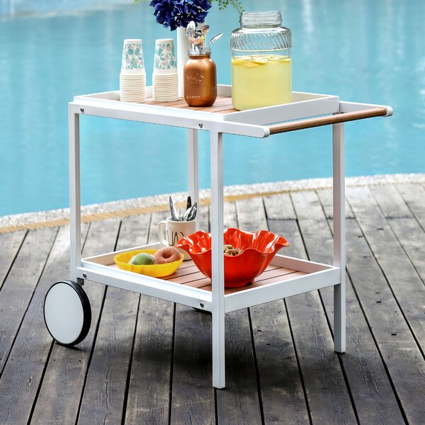 Kayle Bar Cart by Brayden Studio