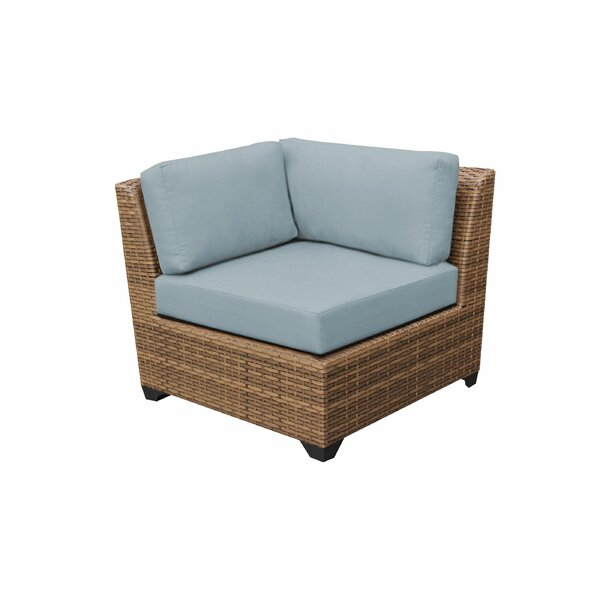 Medina Patio Chair with Cushions (Set of 2) by Rosecliff Heights