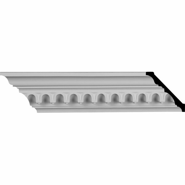 Heaton 3 7/8H x 95 5/8W x 4D Crown Molding by Ekena Millwork