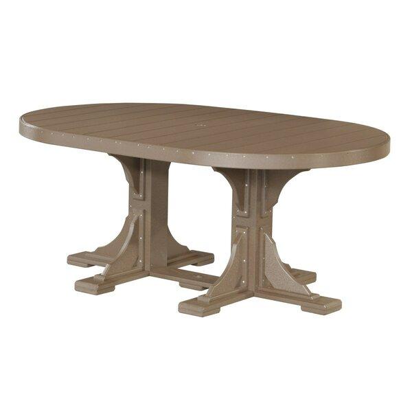 Crenata Plastic Dining Table by Ebern Designs