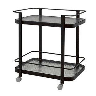 Aluminum Occasional Bar Cart