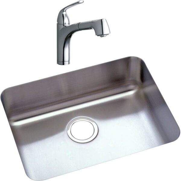 22.5 L x 17.25 W Kitchen Sink with Faucet by Elkay