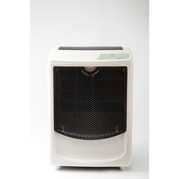 120 Pint Dehumidifier with Casters by Pridiom
