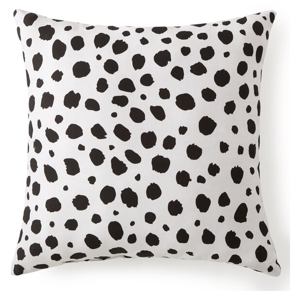 Harpster Animal Spots Cotton Throw Pillow by Ebern Designs