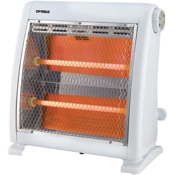 Quartz 800 Watt Electric Radiant Compact Heater By Optimus