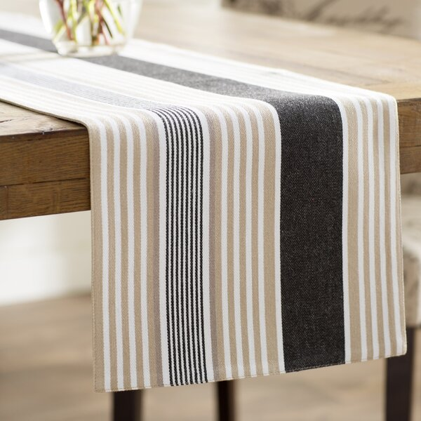 Stroudsburg Stripes Table Runner by Andover Mills