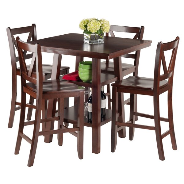 Pratt Street 5 Piece Dining Set By Red Barrel Studio Great Reviews