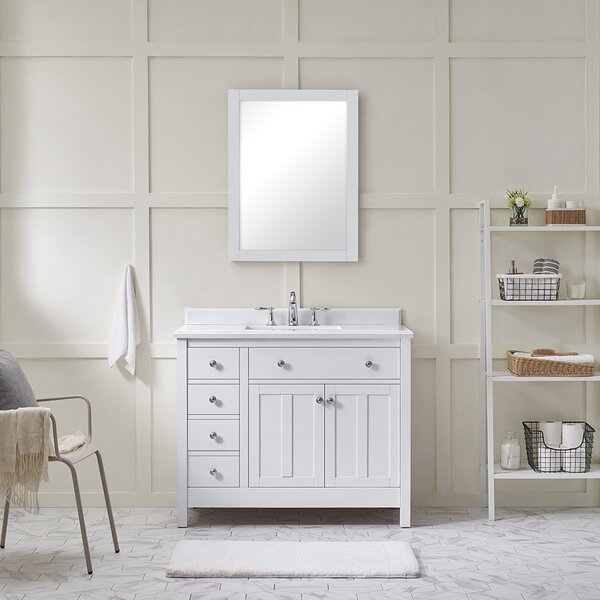 Newcastle 42'' Single Bathroom Vanity Set by Ove Decors