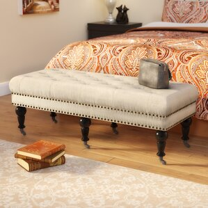 Woodard Upholstered Bench by Charlton Home