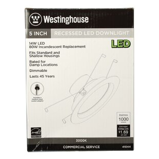 Great choice LED Recessed Retrofit Downlight By Westinghouse Lighting