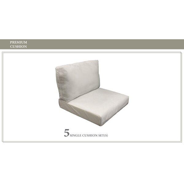 Coast 10 Piece Outdoor Lounge Chair Cushion Set by TK Classics TK Classics