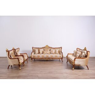 Pisani 3 Piece Living Room Set by Astoria Grand