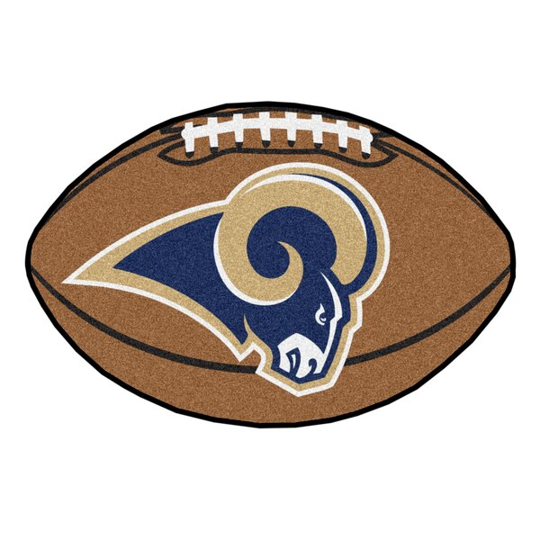 NFL - Los Angeles Rams Football Mat by FANMATS