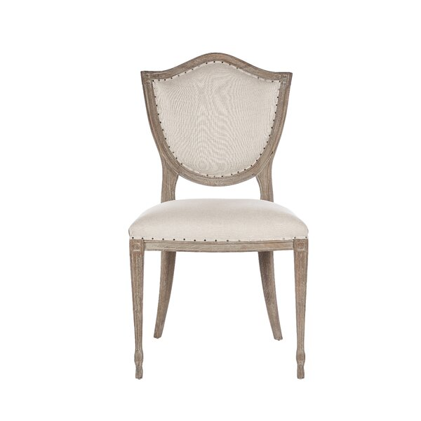 Shield Upholstered Dining Chair By Aidan Gray