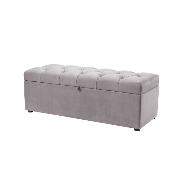Luyen Tufted Upholstered Storage Bedroom Bench by Everly Quinn Everly Quinn