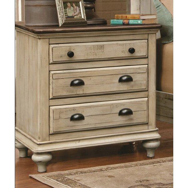 Kennington 3 Drawer Nightstand by Gracie Oaks