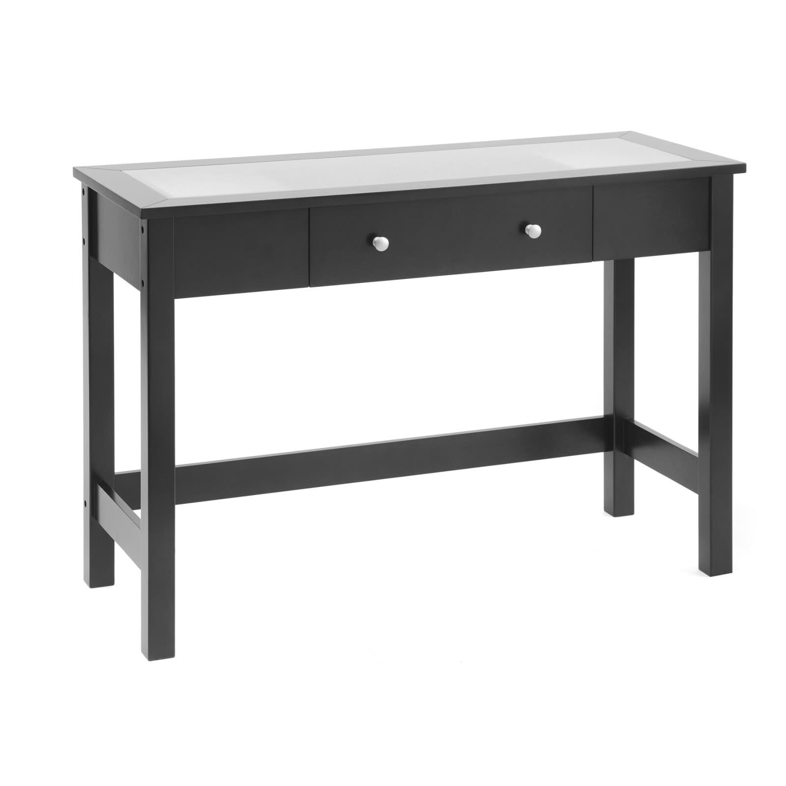 Wildon Home ® Bay Shore Console Table With Glass Top U0026 Reviews | Wayfair