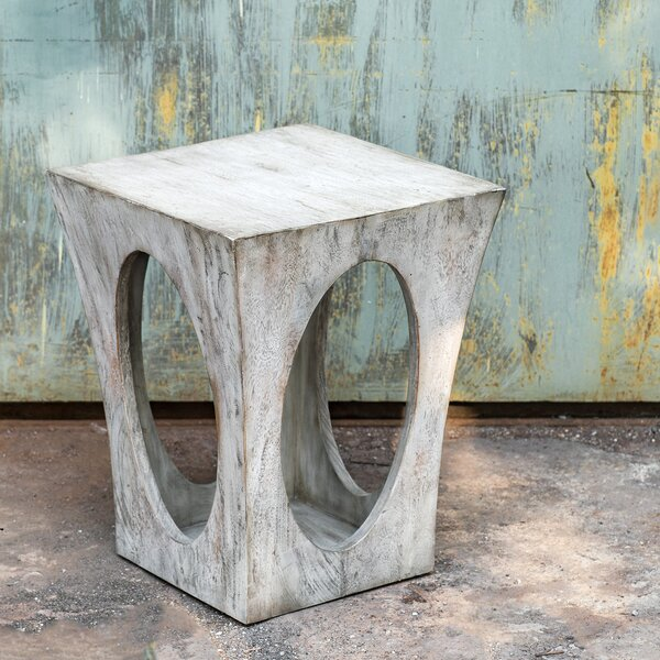 Cecelia End Table by 17 Stories