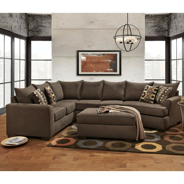 Casey Left Hand Facing Sectional by Wildon Home®