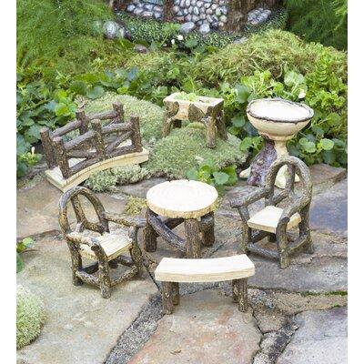 Miniature Garden Woodland 7 Piece Fairy Garden Set