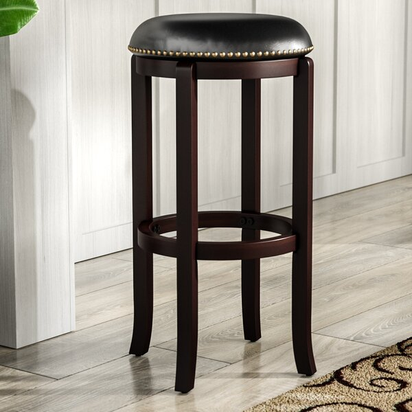 Dunmire 29 Swivel Bar Stool by Red Barrel Studio