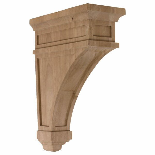 Arlington 13 3/4H x 4 1/2W x 10D Corbel in Rubberwood by Ekena Millwork