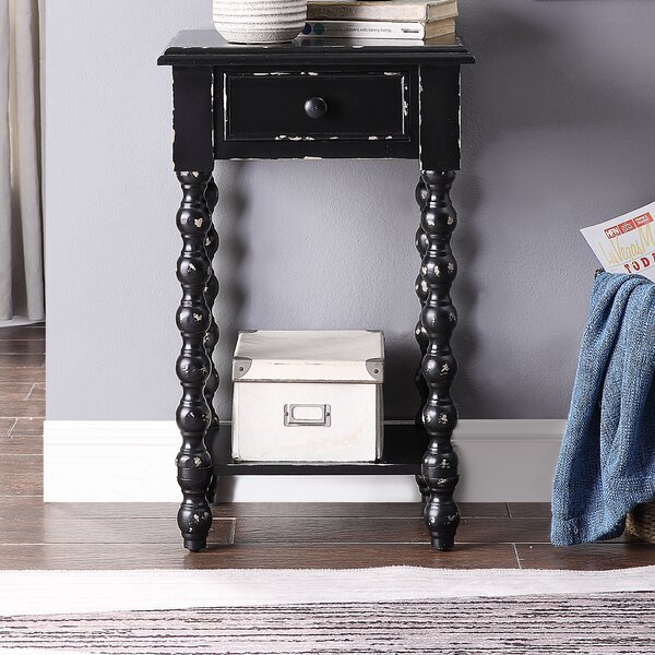 Newtowne End Table by Gracie Oaks