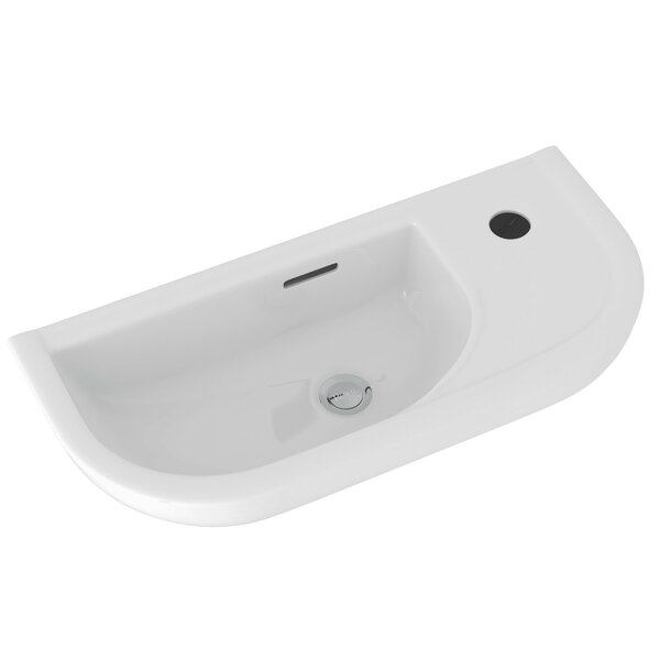 ROHL® Wall Mount Allia™ Hand Rinse Sink in White