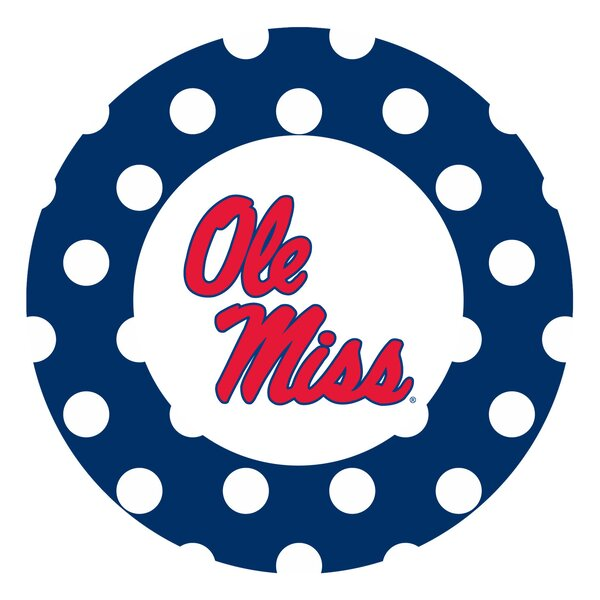 University of Mississippi Dots Collegiate Coaster (Set of 4) by Thirstystone