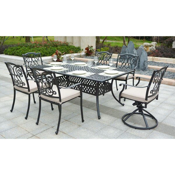 Christena 7 Piece Dining Set by Darby Home Co