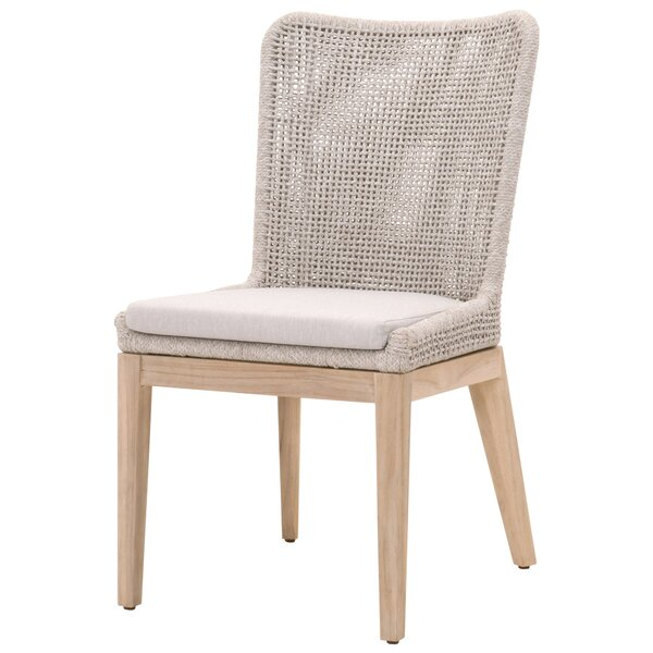Boulanger Teak Patio Dining Chair (Set of 2) by Bungalow Rose